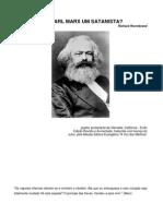 Era Karl Marx Um Satanista