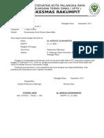Surat Permohonan Selesai PTT