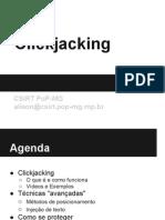 Click Jacking