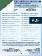Curso a Distancia de Actualización en Salud Ocupacional 2010