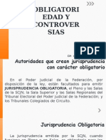 Obligatoriedad y Controversias