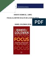 Ensayo Del Libro Focus Daniel Goleman