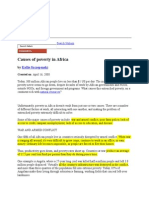 Poverty Africa AMIK