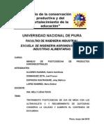 Tratamiento Postcosecha de Uva de Mesa Con Luz Ultravioleta y Recubrimiento de Quitosano