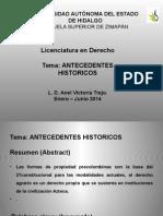 Antecedentes Historicos Derecho Agrario