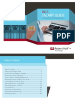 2015 Salary Guide for IT Professionals