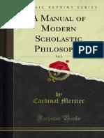 A Manual of Modern Scholastic Philosophy v2 1000059811