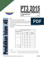 SOALAN PEND ISLAM PT3 2015 Pulau Pinang