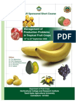 Management of Production Problems in Tropical Fruit Crops