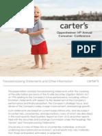 CRI Oppenheimer 2014 Consumer Conference v FINAL