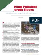 Specifying Polished Concrete Floors