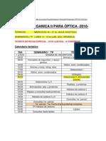calendario optica II 2010