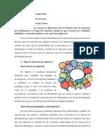 Teoría y Técnica de La Entrevista Tercer Encuentro.
