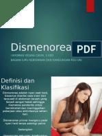 Dismenorea Dysmenorrhea
