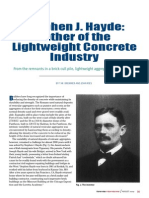 Father of the Lightweight Concrete Industry