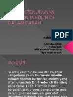 Dampak penurunan Hormon Insulin Di Dalam Darah