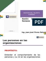 SESION 1 Las Personas en Las Organizaciones