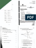 2009 CSSA Mathematics Trial