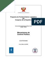 Mecanismos de Control Politico del parlamento al ejecutivo.pdf