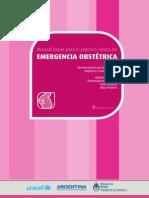Manual Breve Para La Practica Clinica en Emergencia Obstetrica Medilibros.com