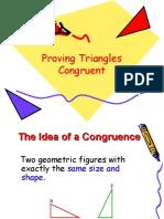 Geometry Congr Uence