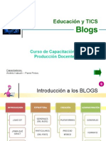 Educación y TICS - Introduccion a blogs