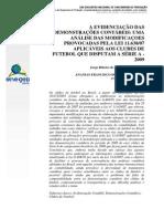 A Evidenciação Das Ações Contabeis - Uma Analise Das Modificacoes Provocadas Pela Lei Pele (Filho, Santos)