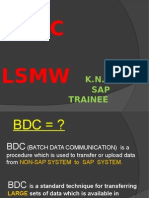 Bdc & Lsmw