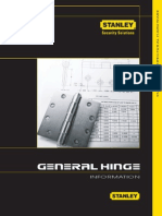 Hinge Information guide and catalogue