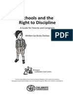 Schools and the Right to Discipline 2011