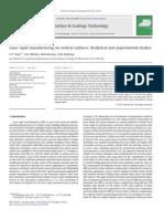 Laser Rapid Mfg on Vertical Surfaces
