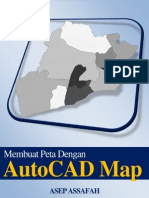 Membuat Peta Deng an Auto Cad Map