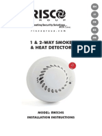 5IN2016 D 1-2 Way Wireless Smoke-Heat Detector (X34S) Installer en FR IT ES PT de WEB