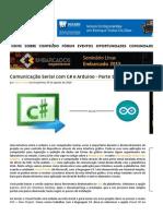 Comunicação Serial Com C# e Arduino - Parte 1 - Embarcados