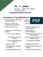 Jobswire.com Resume of lonniejr2006