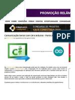 Comunicação Serial Com C# e Arduino - Parte 2