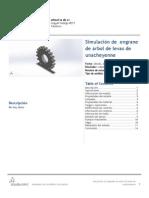 Engrane de Arbol de Levas de Unacheyenne-Análisis Estático 1-1