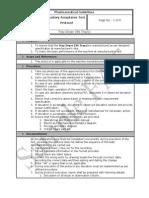 Sample FAT Protocol