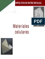 Materiales celulares