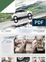 Ertiga Paseo 2015 Brochure