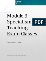 CM specialism Exam Classes