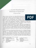 Van Dan Fünfzig Jahre Deutschunterricht 1968