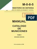 M-0-8-5 (Municiones I) TOMO I