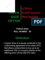 Green Shoe Option