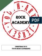 ROCK ACADEMY Christmas 2015