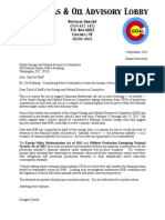 ENR Committee Chiefs of Staff - 5 September 2015 CGOAL Letter