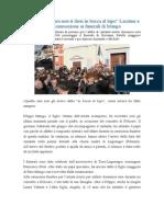 Cronaca La Stampa 10 Diciembre 2014