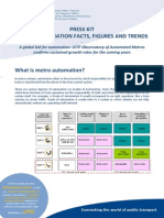 Metro Automation - Facts and Figures