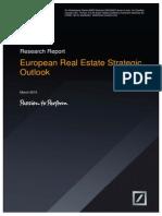 Deutsche AWM - Europe Real Estate Strategic Outlook - March 2015