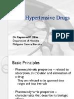 Pharmacology 3.1 - Anti-hypertensive Drugs OLD